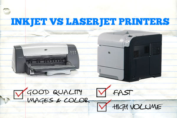 Photo printer laser vs inkjet
