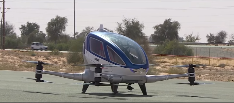 Dubai Is Set to Fly the World's First Passenger-Carrying Drone