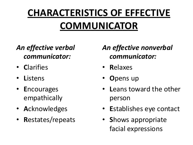 Verbal communicator