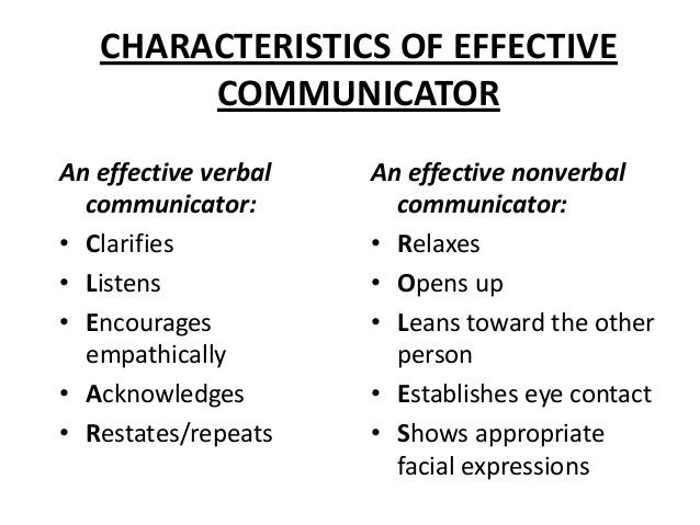 Verbal communicator
