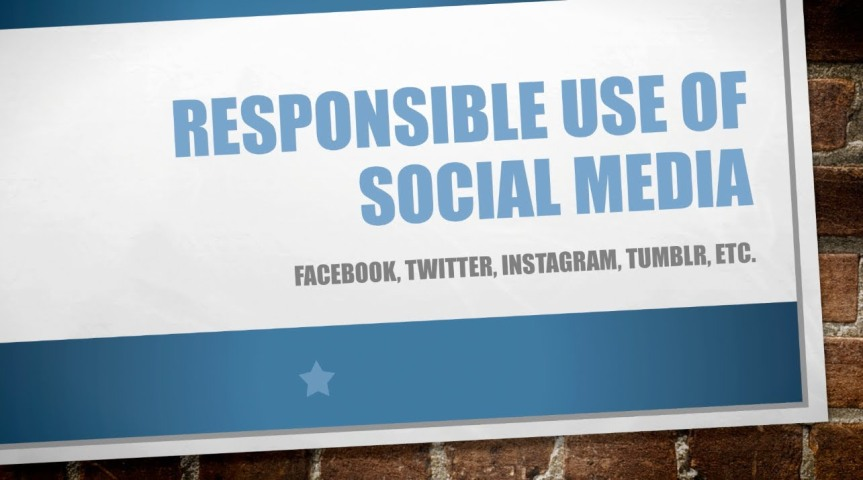 Top 5 Simple Tips For Responsible Use of Social Media